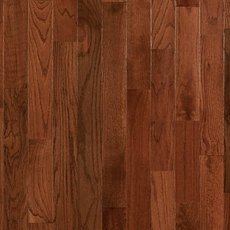 Gunstock Oak Smooth High Gloss Solid Hardwood
