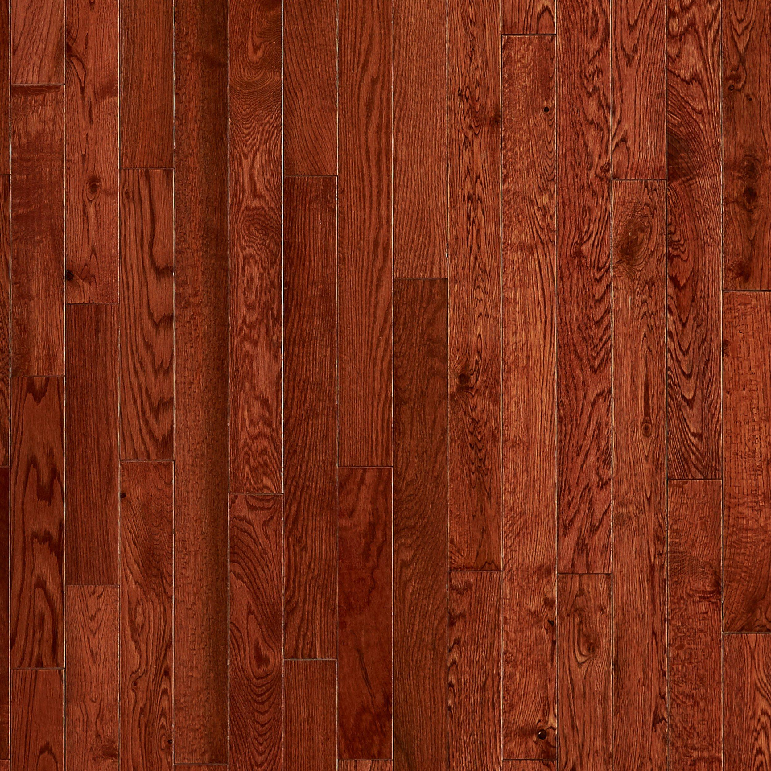 cherry oak smooth solid hardwood 58in x 2 14in floor and decor