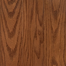Saddle Oak Solid Hardwood