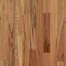 Rustic Natural Oak Smooth Solid Hardwood