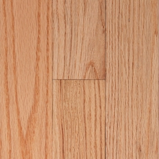 Rustic Natural Oak Solid Hardwood