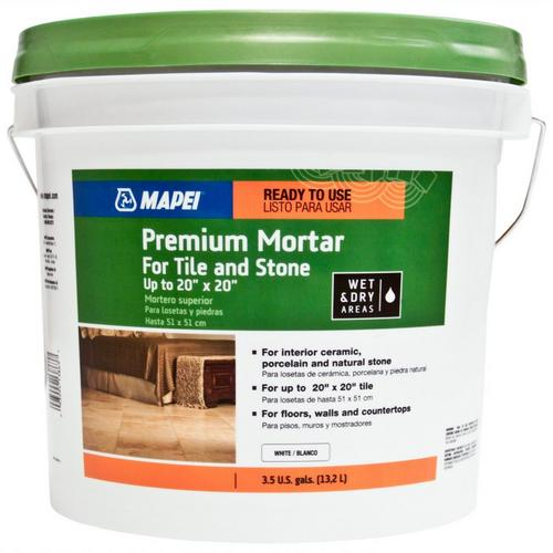 Mapei Premium Premixed Mortar For Tile And Stone 35gal