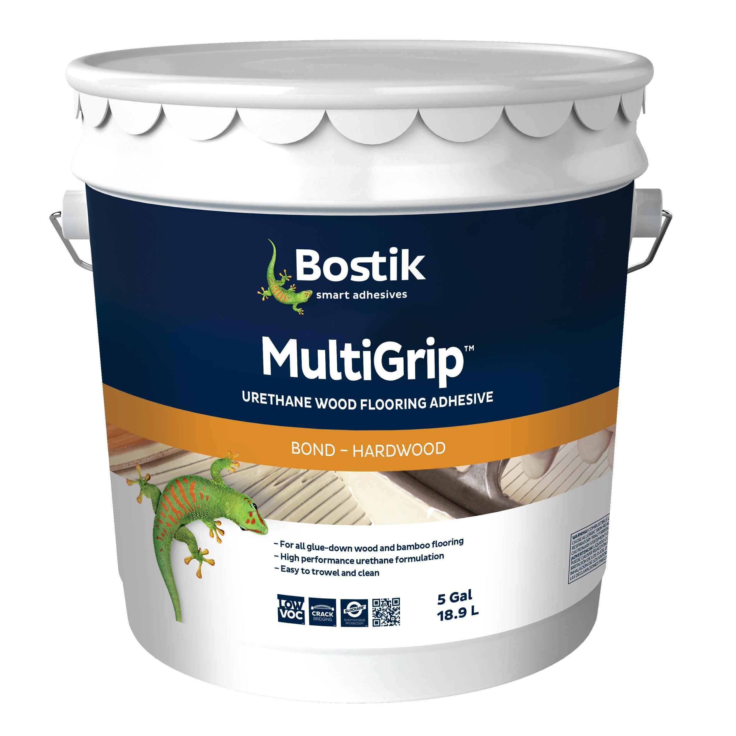 Bostik MultiGrip Urethane Wood Flooring Adhesive   5gal.   951100102 | Floor  And Decor