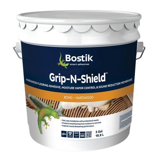 Bostik Grip N Shield Hardwood Flooring Adhesive 5gal 951100103