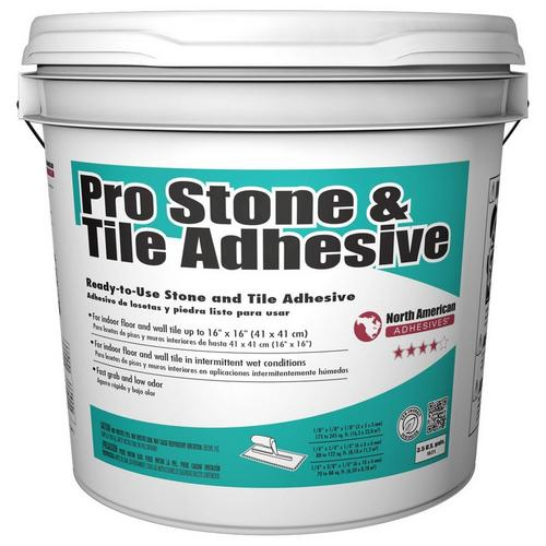 Mapei Pro Stone And Tile Adhesive Gal Floor And - Acrylic tile adhesive vs thinset