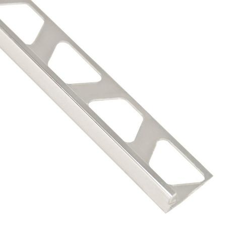 Schluter-Jolly Edge Trim 5/16in  in Polished Chrome Anodized