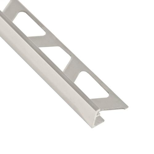 Schluter-Jolly Edge Trim 1/2in  in Polished Chrome Anodized