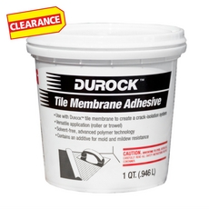 Clearance! Durock Tile Membrane Adhesive