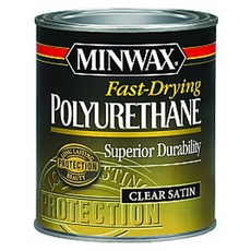 Minwax Fast-Drying Polyurethane Clear Satin Finish