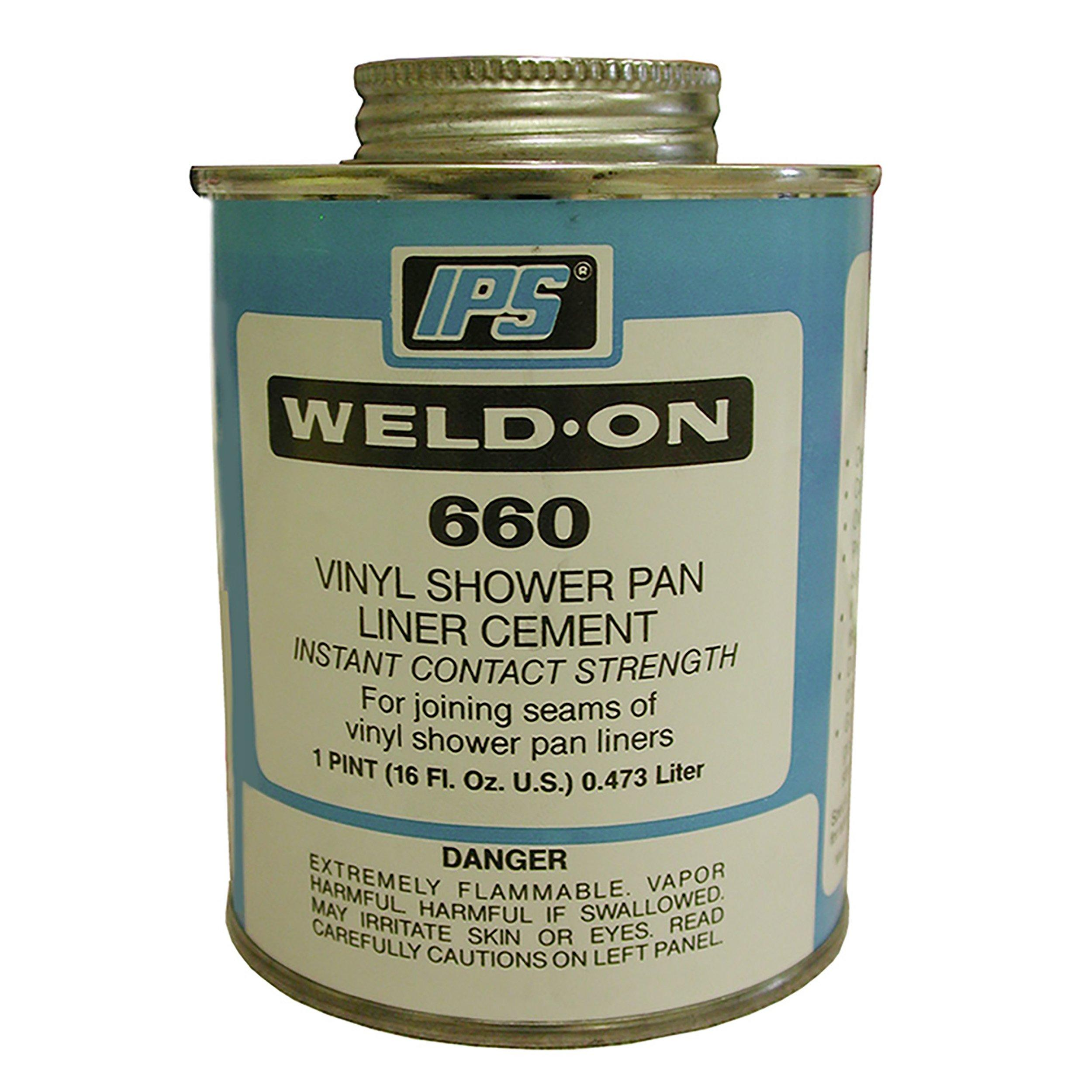 PlumBest IPS Vinyl Shower Pan Liner Cement   1pt.   951500133 | Floor And  Decor