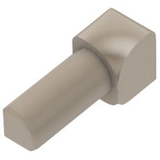 Schluter RONDEC Light Beige 5/16in. Coated PVC 90 Degree Inside Corner