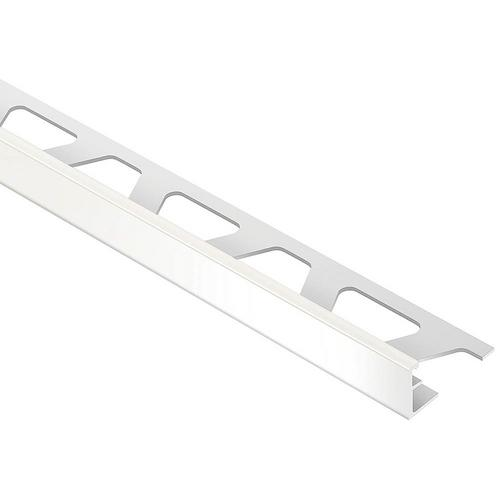 Schluter Jolly Edge Trim 38in Aluminum White 38in 951501138