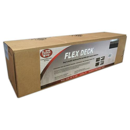 Protecto Wrap Flex Deck Anti Fracture Membrane 30in X 50ft