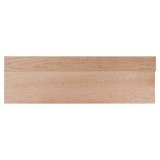 Select Unfinished Red Oak Solid Stair Tread