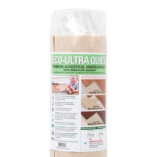 Eco Ultra Quiet Premium Acoustical Underlayment - 100sqft