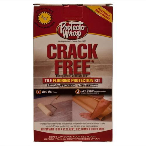 Anti Fracture Membrane Tile Flooring Crack Protection Kit - 12in. x ...