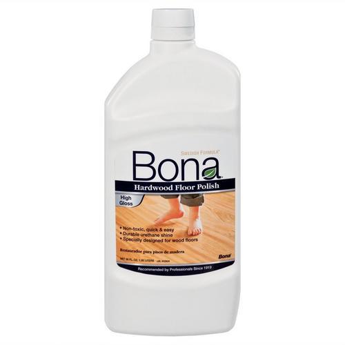 Bona High Gloss Hardwood Floor Polish 36oz 954500220 Floor