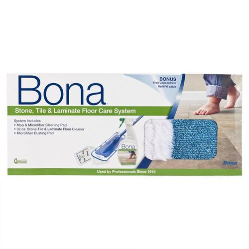 Bona Stone Tile And Laminate Floor Care System 1qt 954500224