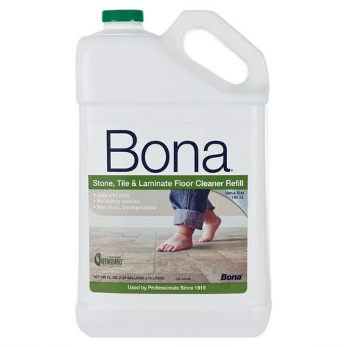 Bona Stone Tile And Laminate Floor Cleaner Refill 160oz