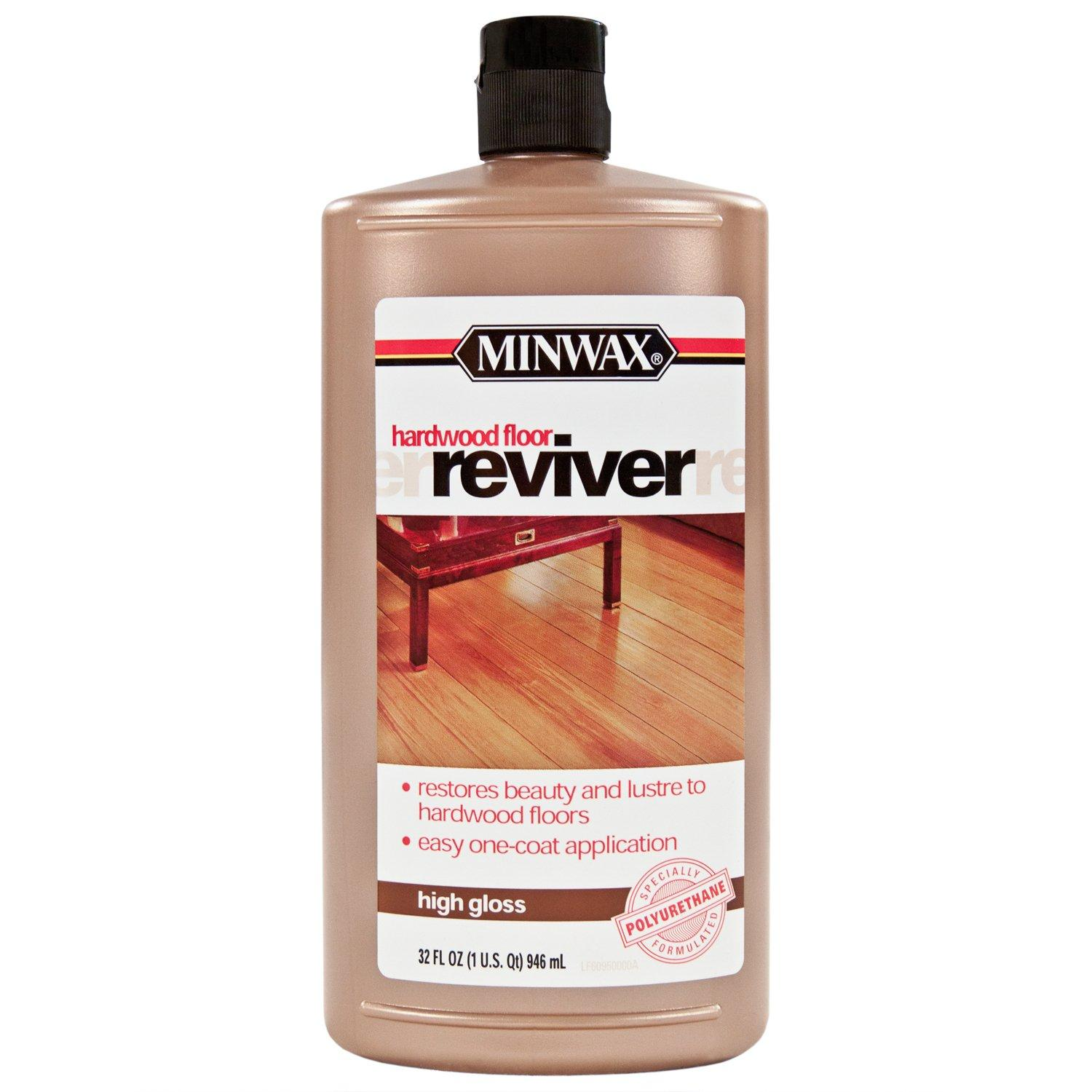 Minwax High Gloss Hardwood Floor Reviver 954507434 Floor And