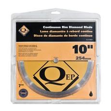 QEP Premium Continuous Rim Wet Saw Blade