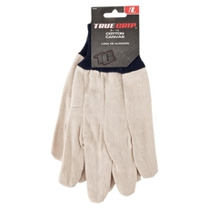 True Grip Cotton Canvas Gloves Large