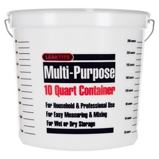 Leaktite Multi-Purpose Clear Container
