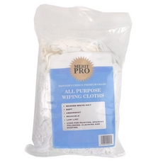 Merit Pro All-Purpose White Cotton Wiping Cloth