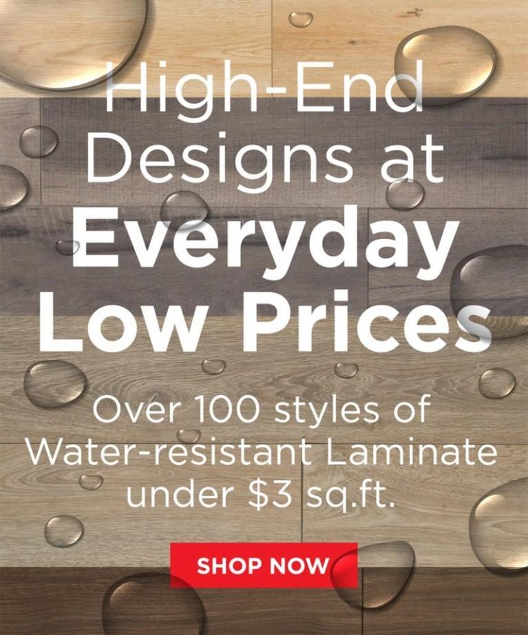 Water-Resistant Laminate Styles