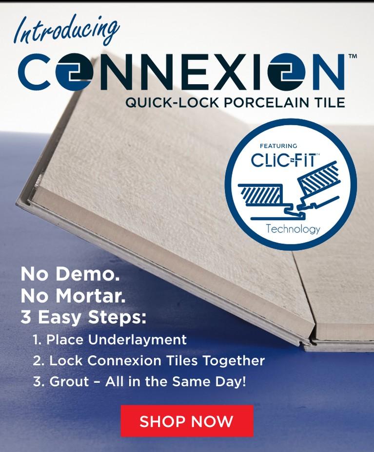 Connexion Quick-Lock Tile