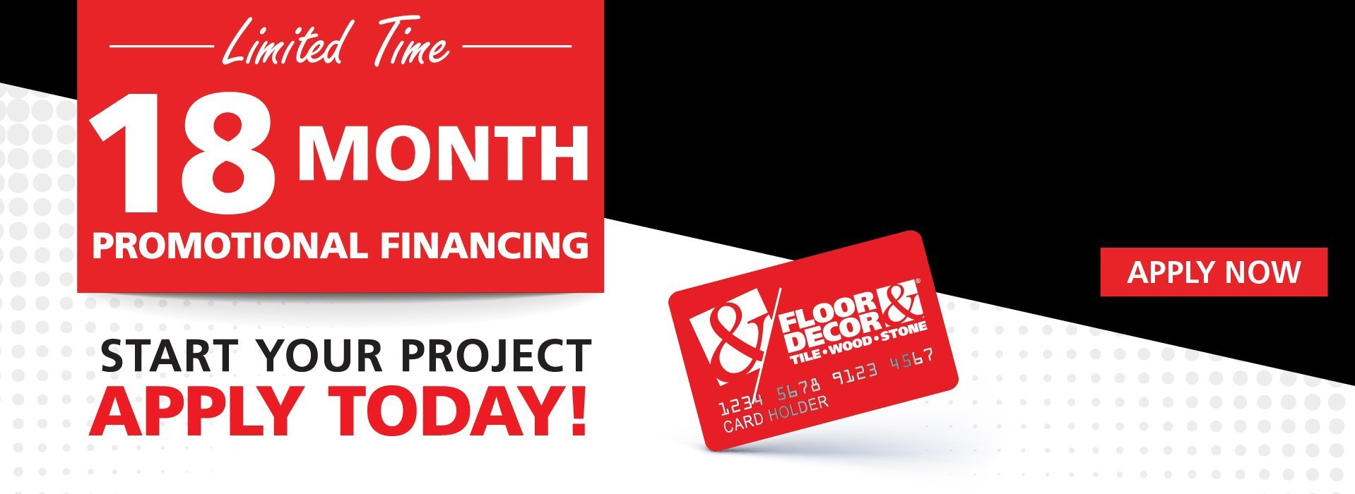 Limited Time 18 Month Promotional Financing