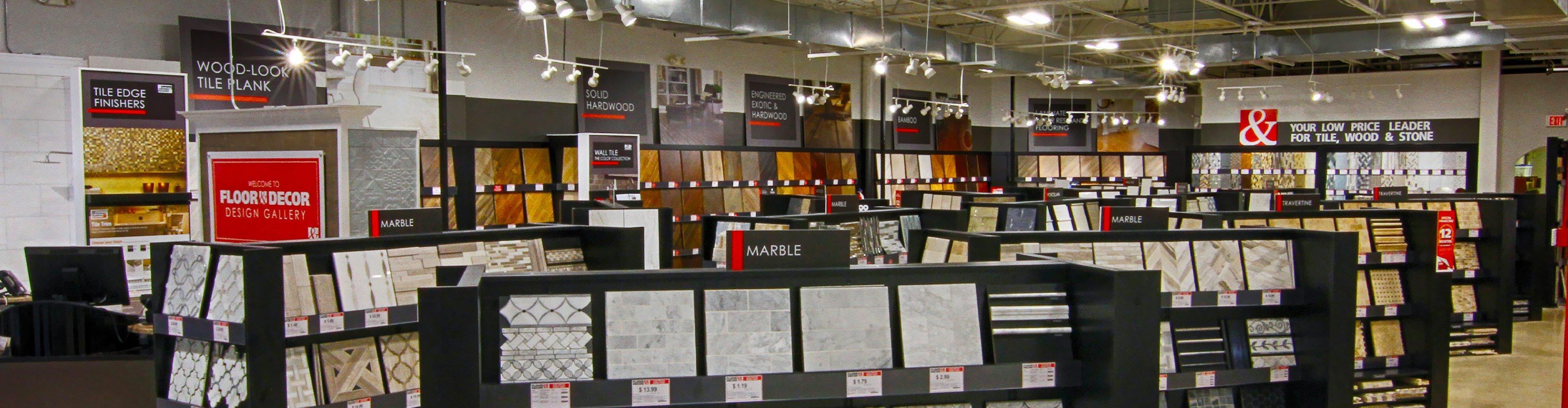 New Orleans LA Store Design Gallery Floor Decor - Floor tile retail stores