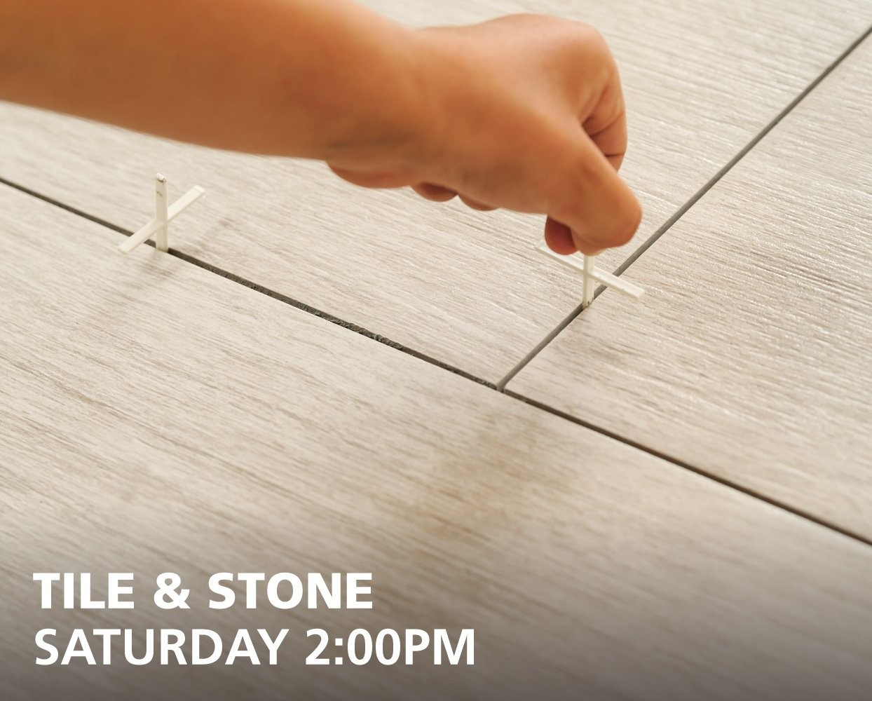Tile & Stone How To classes - Saturdays at 2:00pm