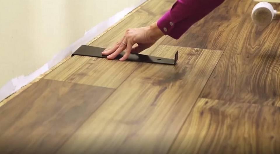 F D Start To Finish Install Aquaguard Laminate Flooring Floor