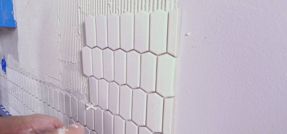 F&D Start to Finish: How To Install A Mosaic Tile Backsplash
