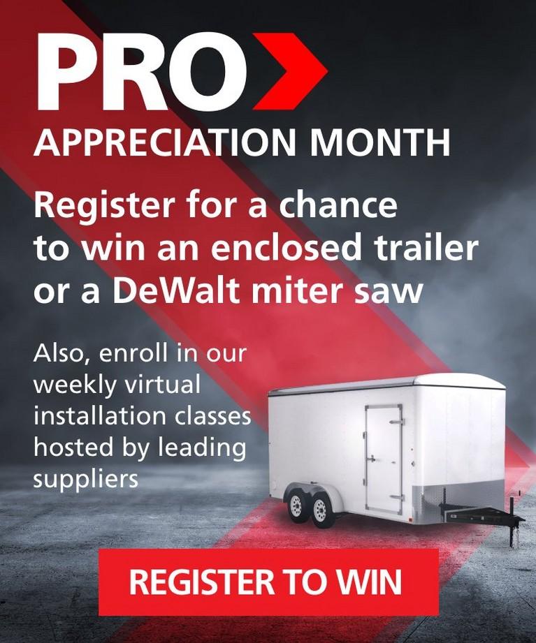 Pro Appreciation Month