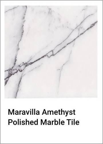 Maravilla Amethyst Polished Marble Tile