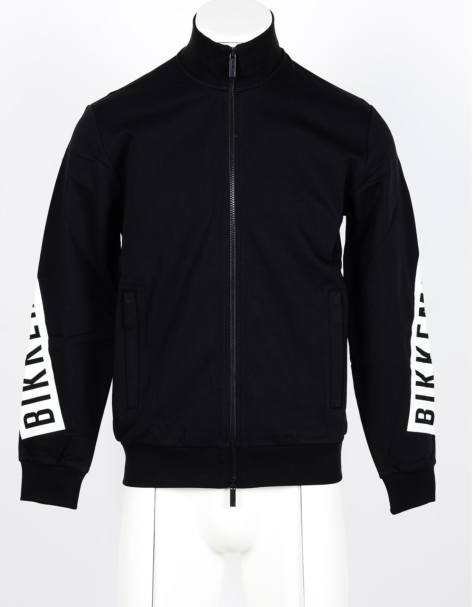 Bikkembergs Men's Black Sweatshirt