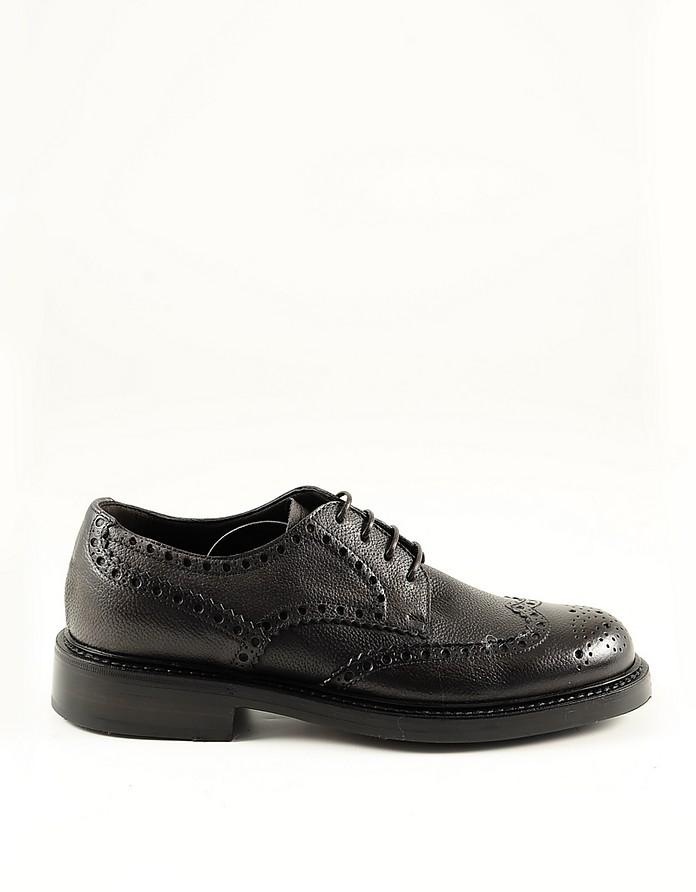 Brown Leather Men's Derby Shoes - Neil Barrett