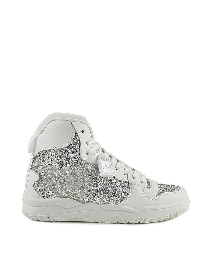 Women's White / Silver Sneakers - Chiara Ferragni