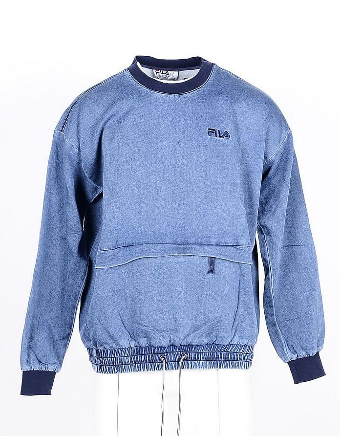 Men's Blue Sweatshirt - FILA