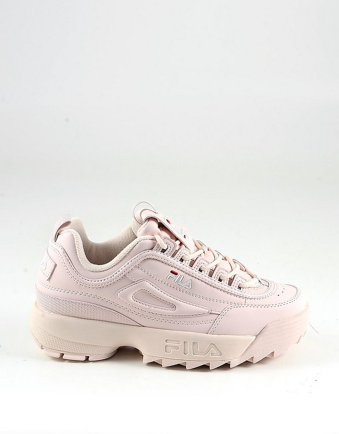 Pink Leather Women's Sneakers - FILA