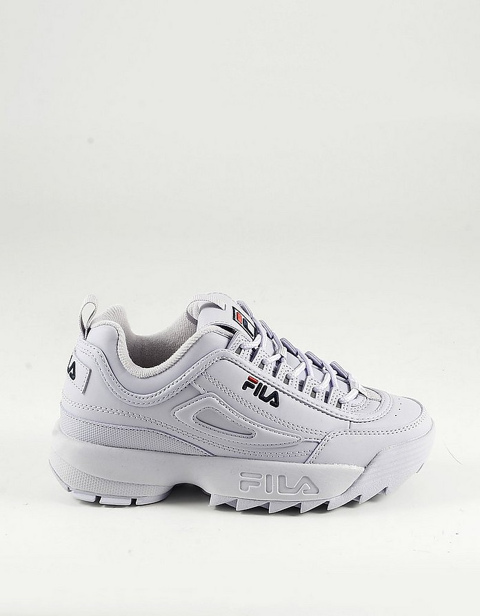Lilac Leather Women's Sneakers - FILA