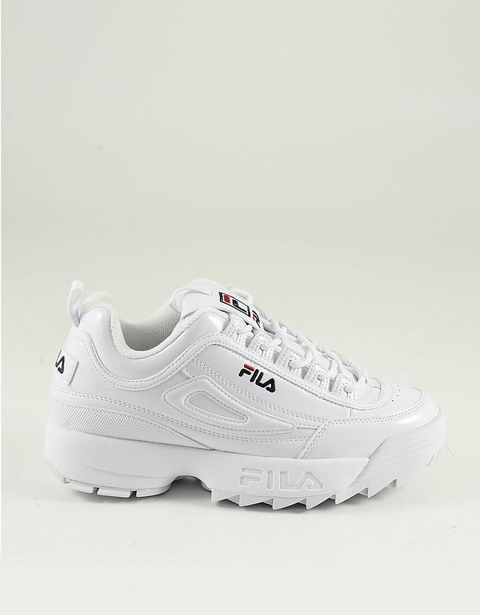 Women's White Shoes - FILA