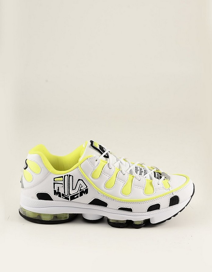 Men's Neon Yellow Shoes - FILA