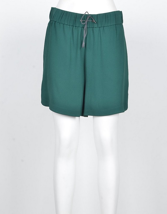 Women's Green Shorts - Fabiana Filippi