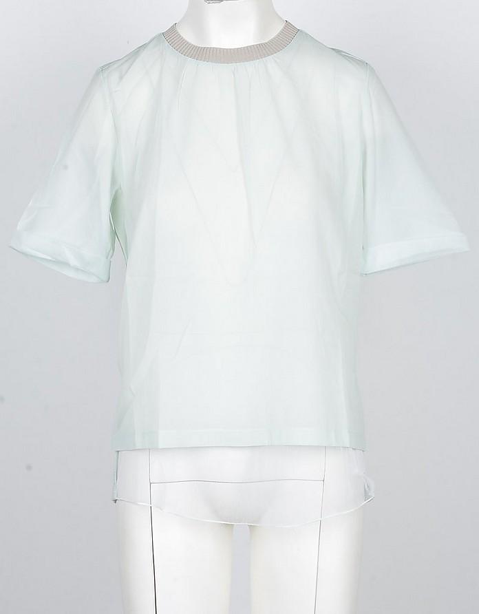 Women's Aqua Tshirt - Fabiana Filippi