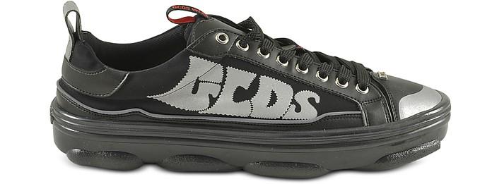 Men's Black Sneakers - GCDS