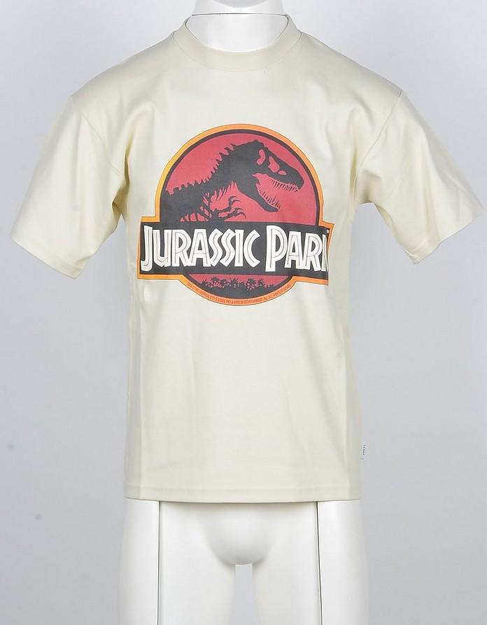 Men's Beige Jurassic Park Cotton T-shirt - GCDS