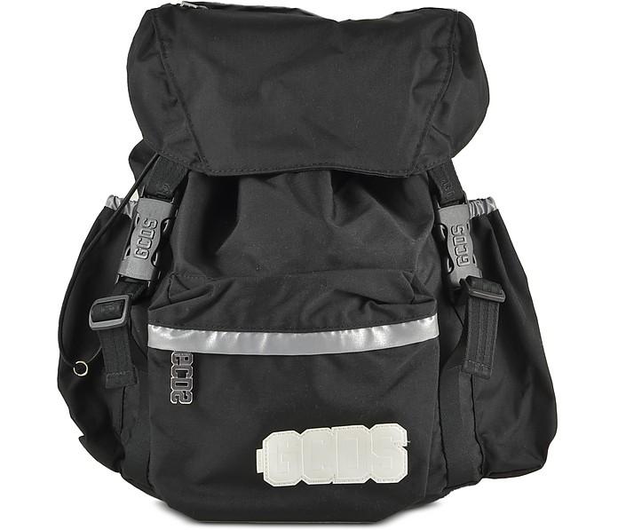 Men's Black Backpack - GCDS